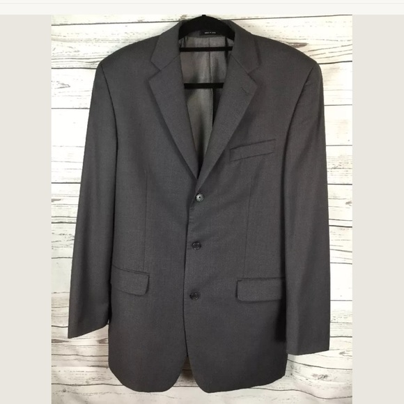 34aebdb901a86 Calvin Klein Jackets & Coats   Single Breasted Suit Jacket 40l ...
